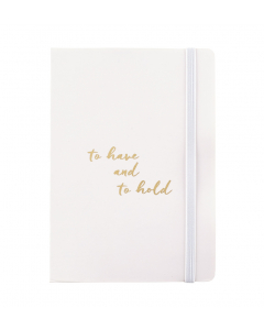 wedding notebook with handy pocket