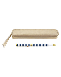 Pen & Case (Gold)