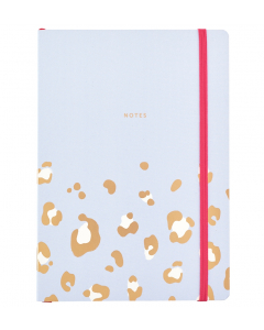 Busy Life Notebook - A5 Paper Leopard