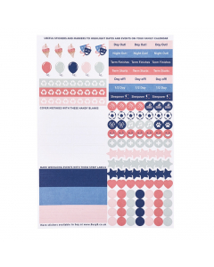 Family Calendar 2020 Sticker Refill (x5)
