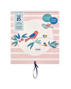 Family Calendar 2020 - Breezy Blossoms