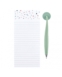 Magnetic Pad & Pen - Breezy Blossoms