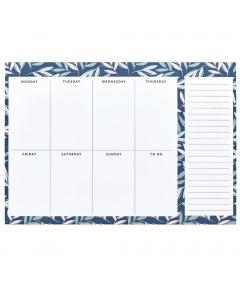 Weekly Planner Pad - Breezy Blossoms