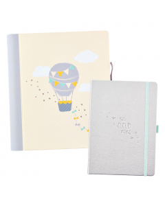 Baby Journal and Pregnancy Journal Gift Set
