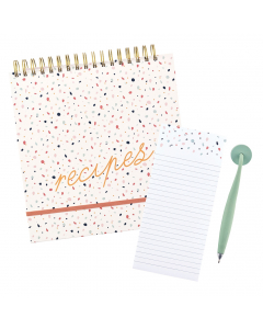 Recipe File / Magnetic Pen & Pad