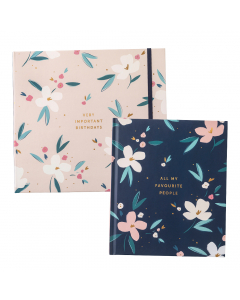 Birthday Card Book / Large Address Book