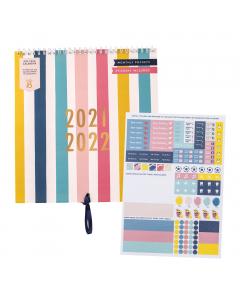 Mid Year Calendar 2021/22 / Mid Year Calendar Sticker Refill (X5)