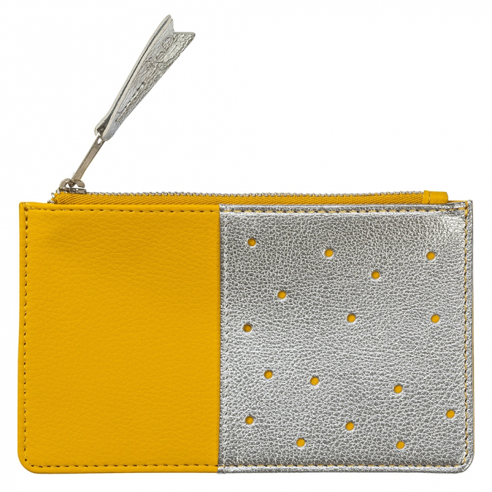 Purse Yellow Silver