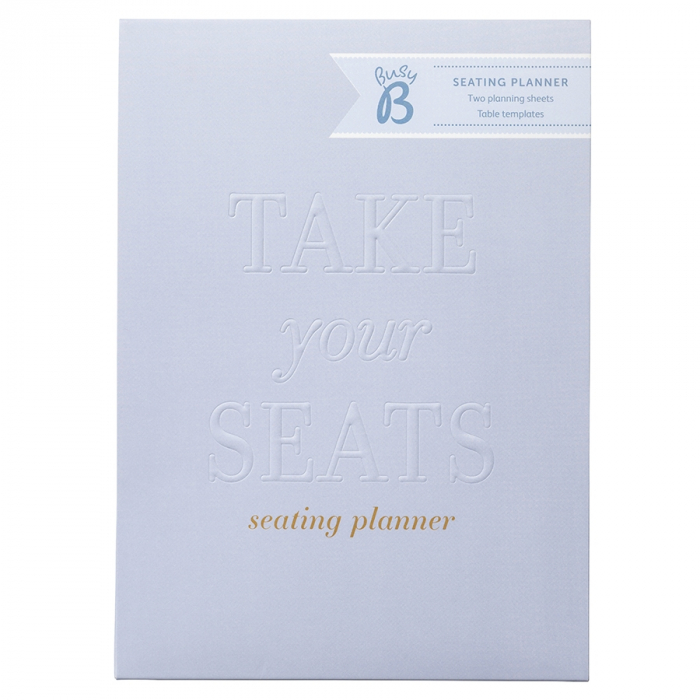 Wedding Seating Planner Powder Blue