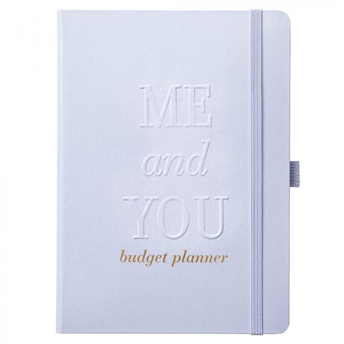 Wedding Budget Book Powder Blue