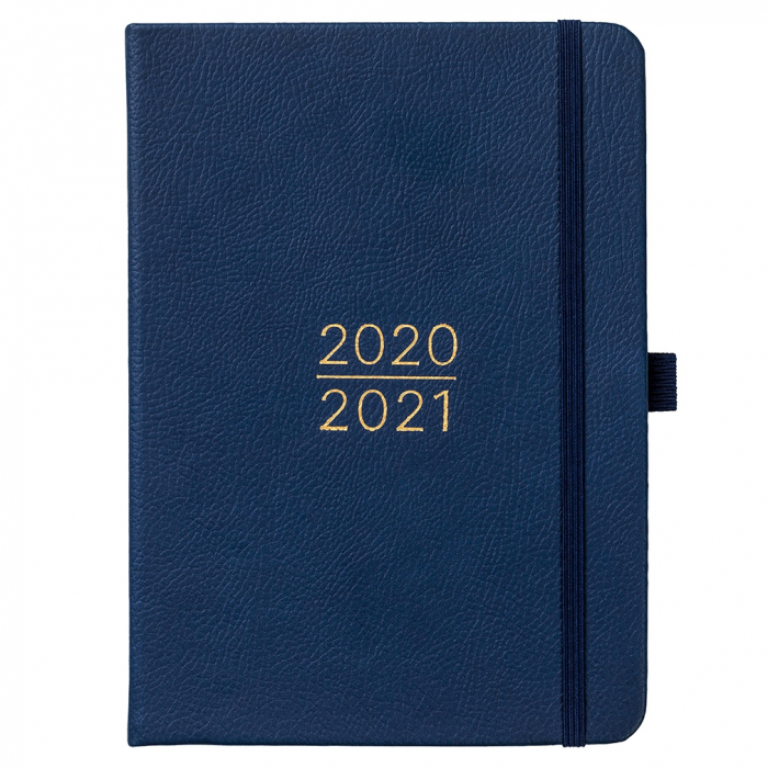 Mid Year Busy Life Diary 2020/21 Navy Faux
