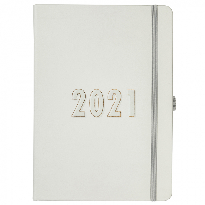 Perfect Planner 2021 Grey Faux