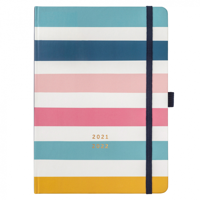 Mid Year Busy Life Diary 2021/22 Stripe