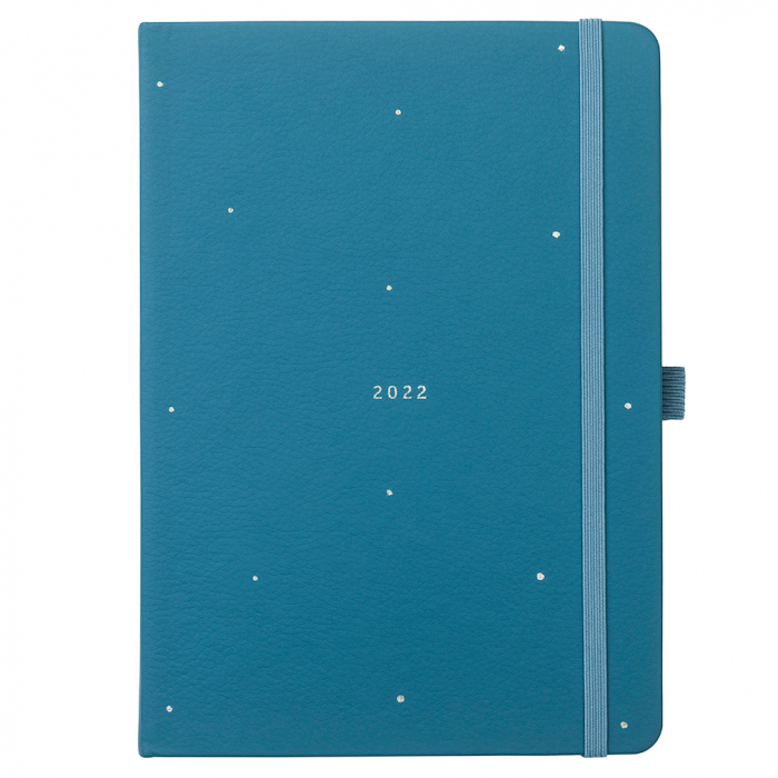 Perfect Planner 2022 Teal Faux