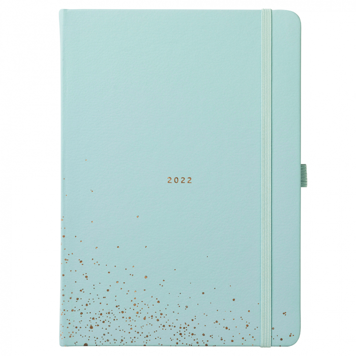 Dual Schedule Day A Page Diary 2022 Seafoam Faux