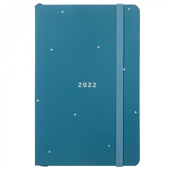 Pocket Diary 2022 Teal Faux