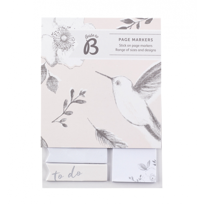 assorted sticky notes for wedding planning