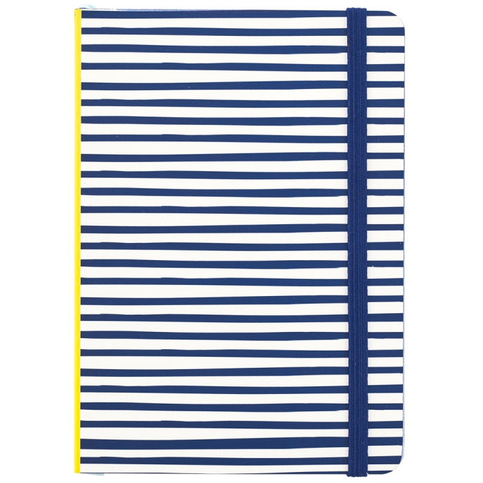 Busy Life Notebook - A6 Paper Stripe