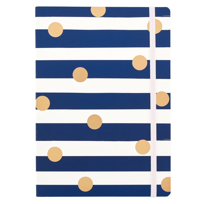Busy Life Notebook - A5 Stripe