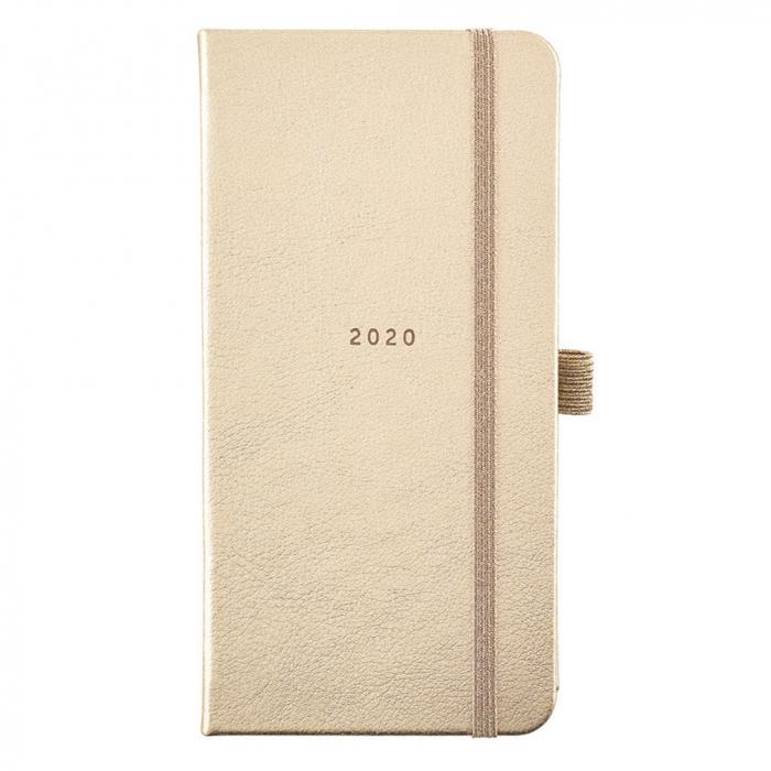Slim Diary 2020 - Breezy Blossoms