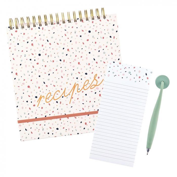 Recipe File / Magnetic Pen & Pad