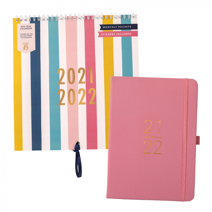 Mid Year Calendar 2021/22 / Mid Year Perfect Planner 2021/22