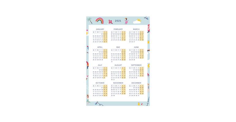 Year Planner - Illustration Image